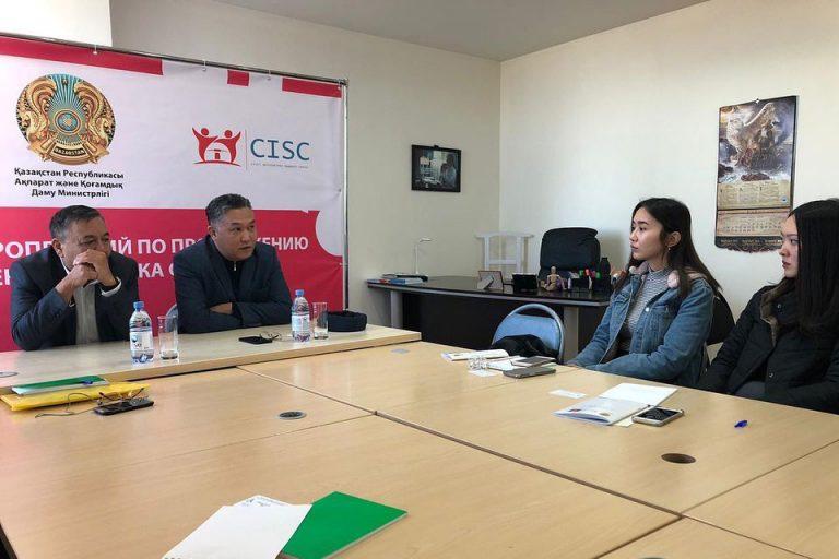 Статус-казахского-языка-повышается,-рассказал-на-встрече-с-НПО-столицы-Дос-Кошим
